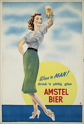 Jaren 50 bier reclame***Research for possible future project.