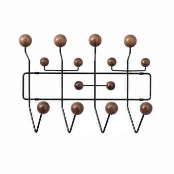 Eames Hang it all Coat Rack knock-off: Eames Hanging Alls Coats Racks, Eames Hanging All Coats Racks, Eames Coats, Eames Inspiration, Awesome Coats, Brick Houses, Eames Hanging It Al, Coatrack, Dupes