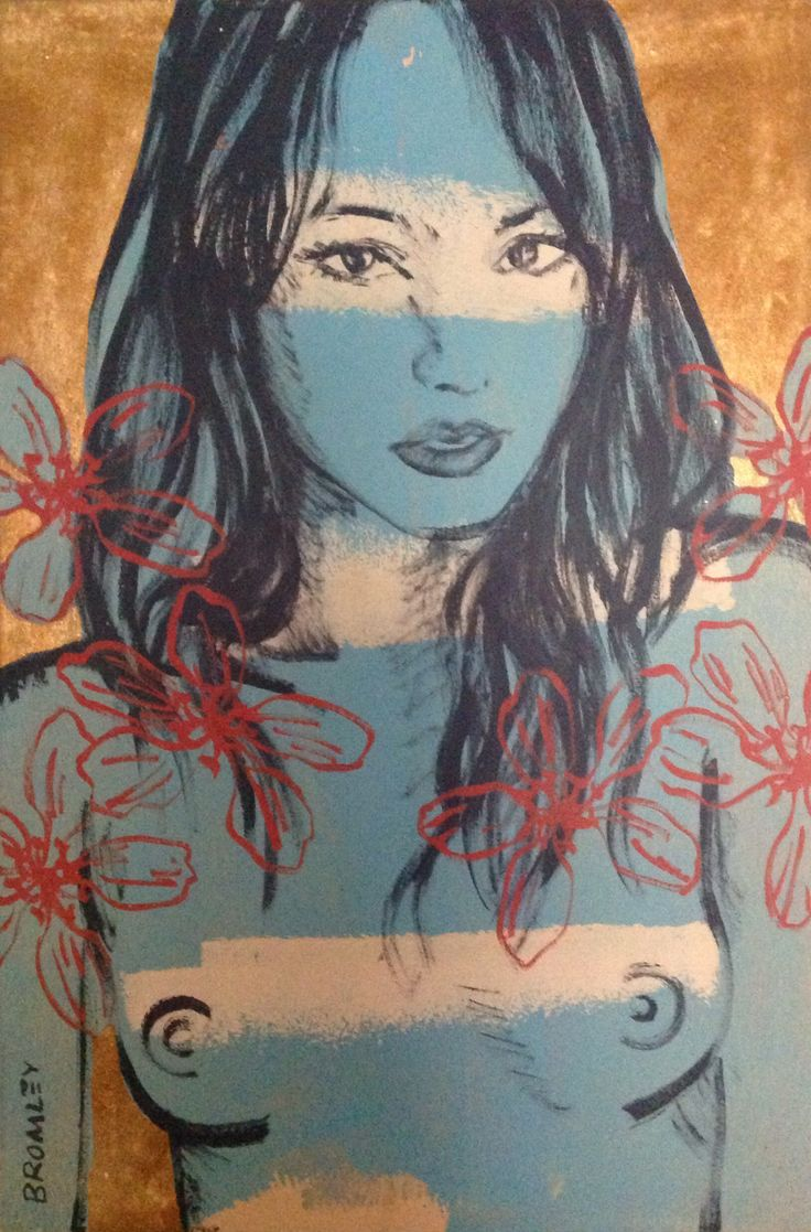 David Bromley painting