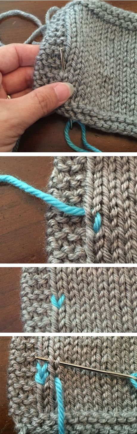 Free Duplicate Stitch Tutorial - How to add duplicate stitch to knitting (affiliate link)