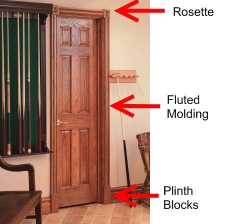 Door Trim Ideas House Door Trims Plinth Blocks Doors
