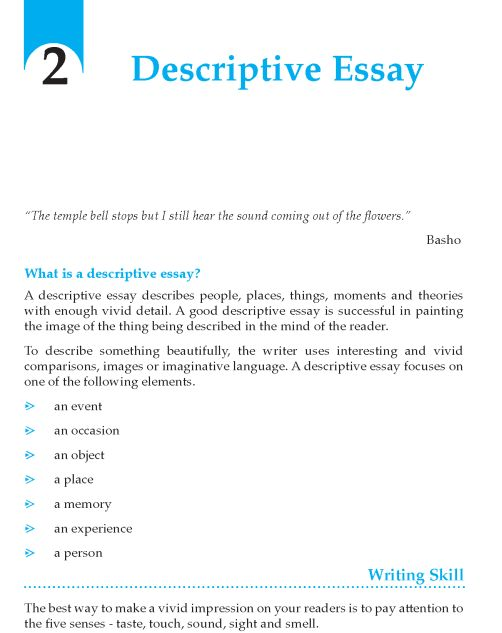 describe good person essay
