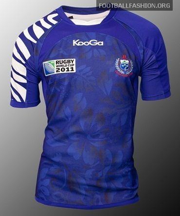 Samoa KooGa Rugby World Cup 2011 Jerseys