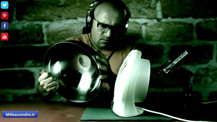 ASMR UFO hair dryer sound