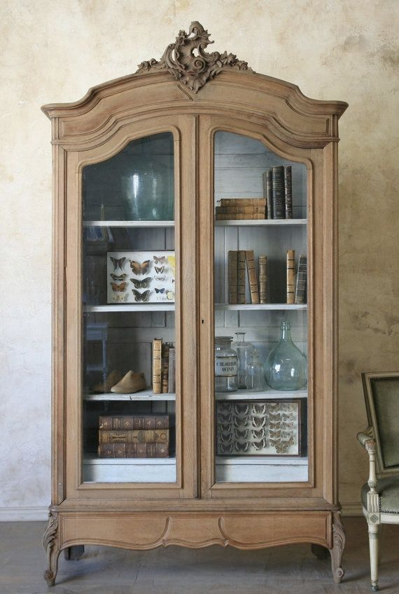 AMAZING French Armoire Display Case.