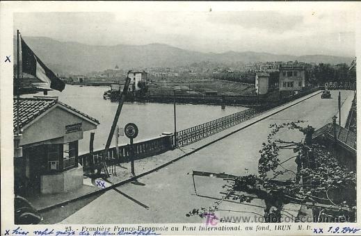 Frontera franco española de Irún
