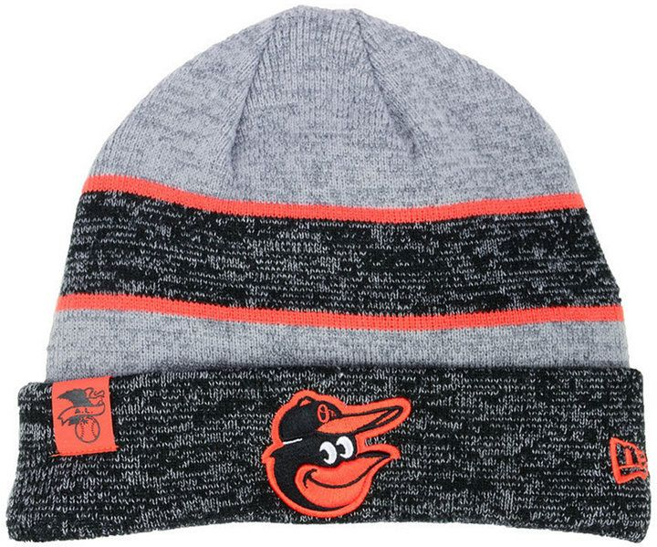 New Era Baltimore Orioles On Field Sport Knit Hat