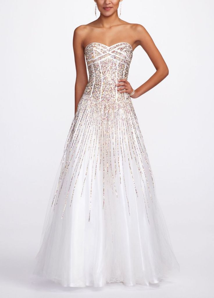 davids bridal prom dress...my actual prom dress. MY PROM DRESS!