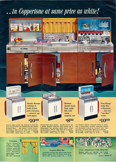 Sears Toy Book 1963. Play Kitchen SetsToy ...