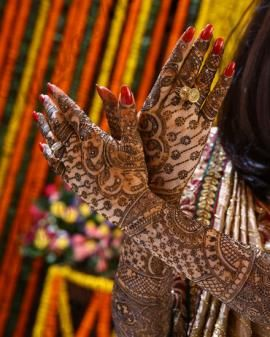 Mehendi Designs   WedMeGood  Gorgeous Mehendi Designs by Kundan Mehendi Artist. Check out their work on wedmegood.com #wedmegood #wmgmehendi #mehendi