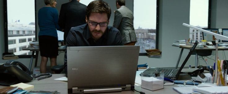 Conspiracy Thriller The Fifth Estate #DanielBrühl Uncovering Secrets using #Dell Latitude e4310 Laptop