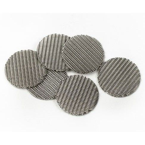 The six pack mesh screens is a new #IOLITE accessory for the IOLITE Original http://magicvaporizers.com/iolite and IOLITE WISPR 2 http://magicvaporizers.com/iolite-wispr-2 made of very fine double woven stainless steel that allows vapor to pass through the very fine plant material in the filling chamber. It has been specially designed to block the small particles being inhaled from the IOLITE vaporizers, but also used in the same way as the standard spare screens. Order today - € 14 only.