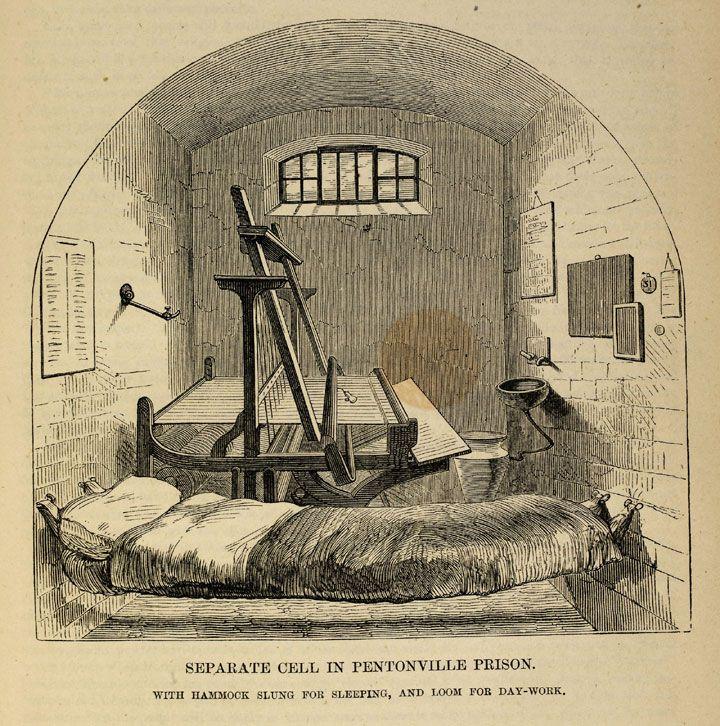 pentonville prison history Education service a victorian prison why were victorian prisons so tough   source 2a : prisoners on a treadwheel at pentonville prison 1895 copy 1/420.