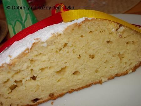 Recept Bochánek / mazanec/ z jogurtů a bez kynutí. Autor: Ivka.
