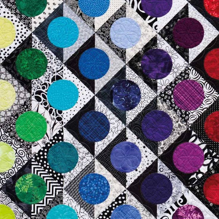 821 best Rainbow quilts images on Pinterest   Blankets, Eyes and ... : bright colored quilts - Adamdwight.com
