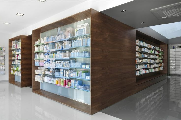 The most beautiful pharmacy I've ever seen.  Campos Pharmacy / e|348 Arquitectura
