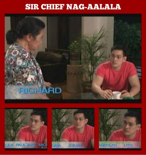 sir chief nag-aalala