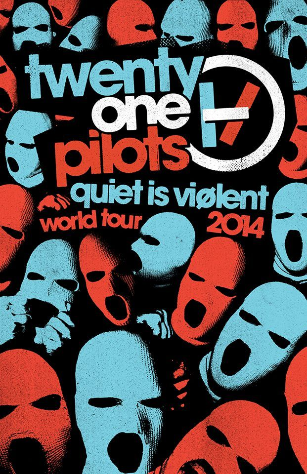 twenty one pilots announce Quiet Is Viølent World Tour - Alternative Press  09.04 Columbus, OH @ LC Outdoors (SOLD OUT) 09.05 Columbus, OH @ LC Outdoors (SOLD OUT) 09.04 Columbus, OH @ LC Outdoors (SOLD OUT) 09.05 Columbus, OH @ LC Outdoors (SOLD OUT) 10.07 Tucson, AZ @ Rialto Theatre 10.08 Los Angeles, CA @ Hollywood Palladium 10.16 Dallas, TX @ House of Blues 10.18 Austin, TX @ Stubbs 10.19 Houston, TX @ House of Blues