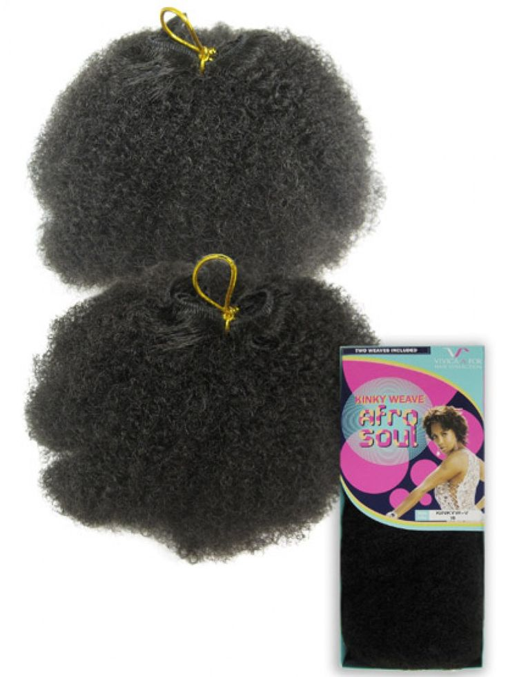 Kinky Afro Weave Synthetic Extensions by Vivica Fox --- I might get this eventually :):)