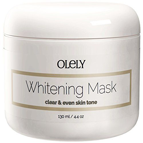 Skin Whitening Cream Mask - The Best Lightening Treatment for Face, Neck and Intimate Areas Such As Underarms (Armpit) and Bikini Line ★ Contains Safe Beauty Bleaching Products Such As Niacinamide, Kaolin Clay and Vitamin C That Lighten Facial Scars, Blemishes and Natural Dark Age Spots on Both Men and Women ★ 100% Money Back Guarantee Olely http://www.amazon.com/dp/B00N1Z6OI8/ref=cm_sw_r_pi_dp_2.Vpub1V3RQMJ