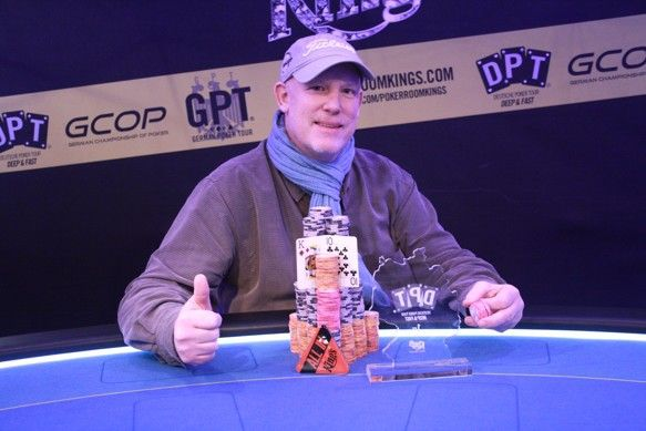 DPT Main Event December 2013 winner Scott Hanna from USA. #Kings #Casino #Rozvadov #Poker #CashGame #CzechRepublic