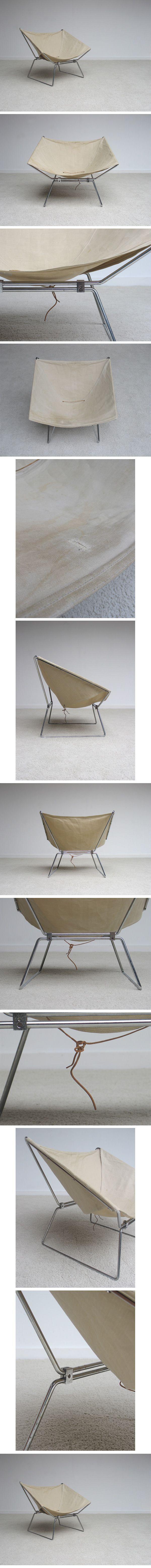 50s, Pierre, Paulin, Easy, Chair, produced, Meubles, TV, France