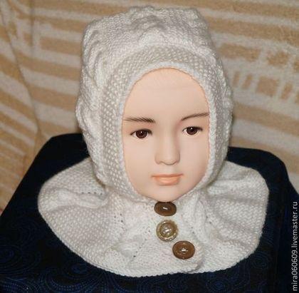Одежда для девочек, ручной работы. Ярмарка Мастеров - ручная работа Шапка-шлем. Handmade.