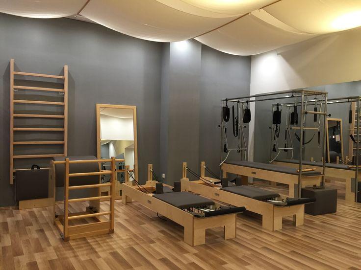 Maria's Pilates studio.