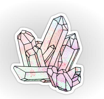Gemstone sticker