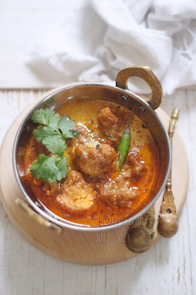 Makhani Gobi: Cauliflower in Creamy Tomato Sauce   eCurry - The Recipe Blog