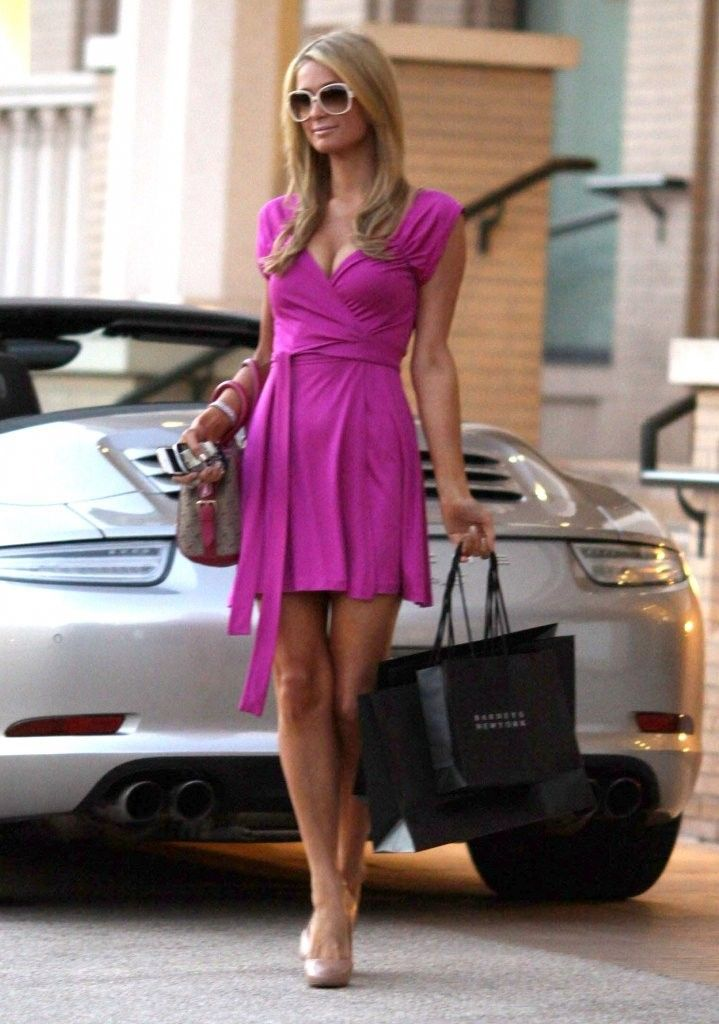 Paris Hilton Photos: Paris Hilton Is Pretty In Pink