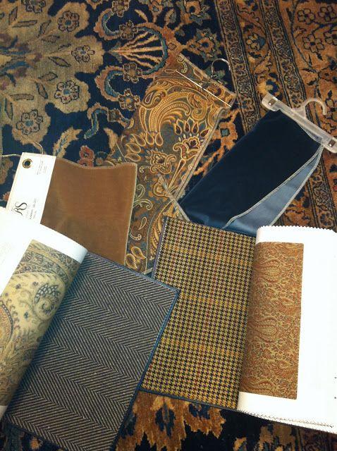 Gorgeous family room color palette - Ralph Lauren. DesignNashville.com is an…