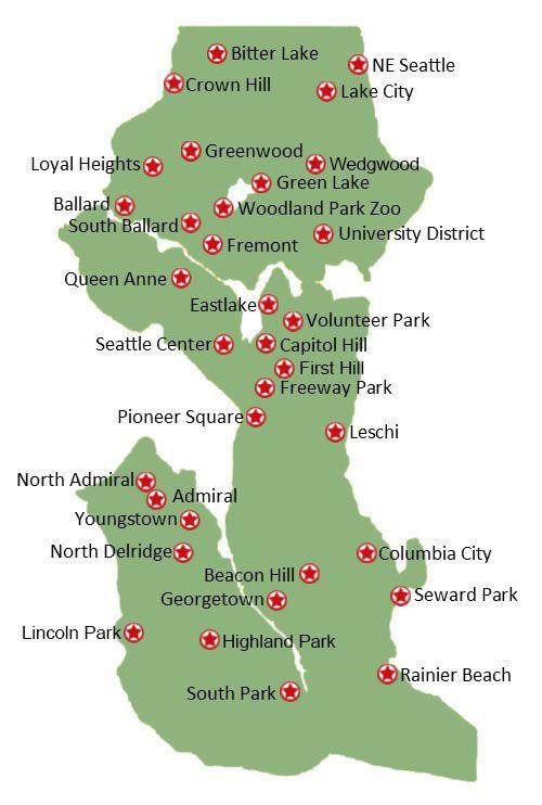 Tree Walk Map
