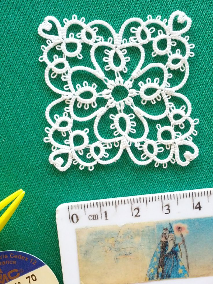 Handmade tatting lace blog with my own free tatting patterns, tutorials, how-to and links to useful resources. It's all about my passion and my joy.