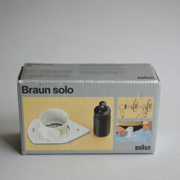 Braun electrical - Household - Braun silencio 1200 / Braun solo