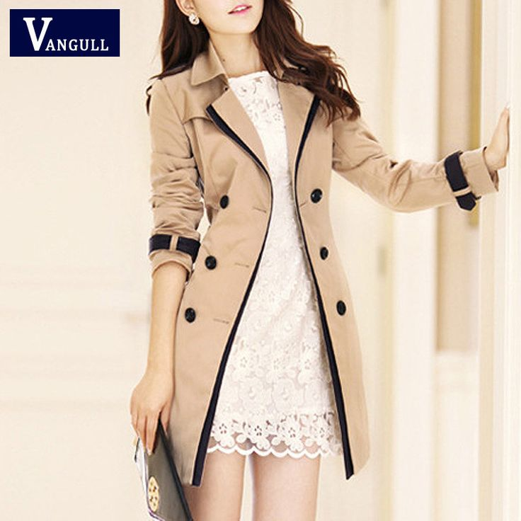 Black Patchwork Pockets Double Breasted Fashion Down Coat