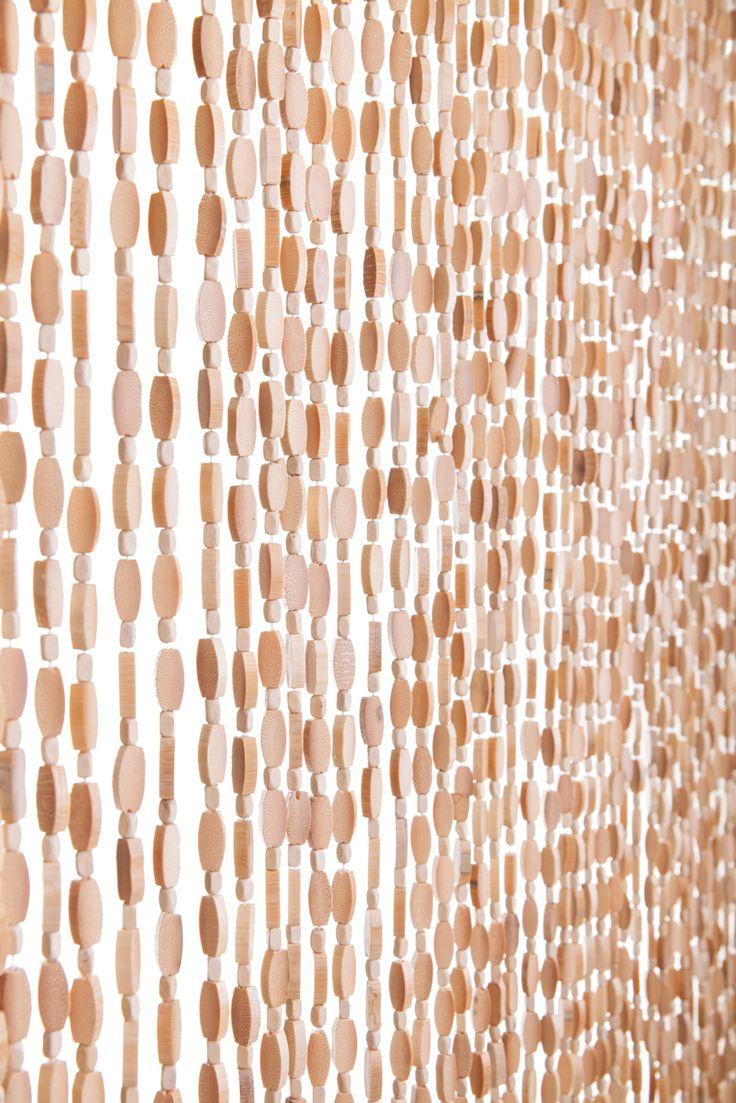 Bamboo beaded curtains2 - Bamboo Curtain Natural Ashford 35 5 X 78 52 Strands Extra Coverage