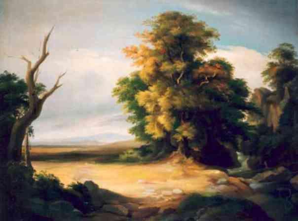 Gheorghe Tăttărescu - Peisaj francez