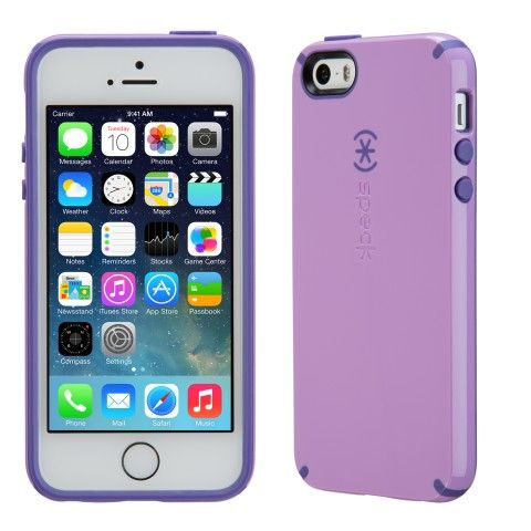 CandyShell iPhone 5s Cases | Cool iPhone 5 Cases from Speck | Speck Products | Haze purple/ grape purple
