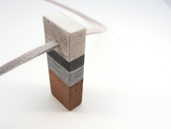 NORDIC CEDAR NECKLACE Reclaimed Wood Art by totemcolorblocks, $24.00Painted Wood, Reclaimed Wood, Nordic Wood, Scandinavian Design, Cedar Wood, Design Painting, Painting Wood, Design Wood, Jewelry Scandinavian