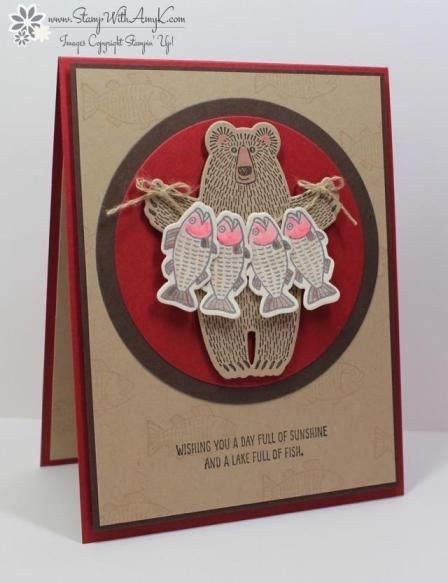 Bear Hugs - Stamp With Amy K