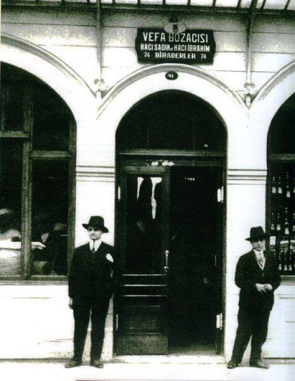 Vefa Bozacısı - 1930′lar