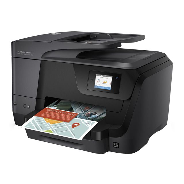 Impresora Multifuncion Tinta Hp Officejet Pro 8715 Wi Fi Adf En