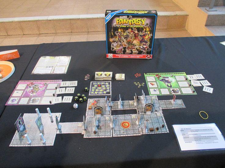 "Super Fantasy en la exposición ""Per Nadal, tota joguina val?"" organizada por Ludoteca Casa dels Colors (Barcelona) / Super Fantasy in the expo ""Per Nadal, tota joguina val?"" sponsored by ""Casa dels Colors"" (Barcelona) #juegos #juegosdemesa #jocs #jocsdetaula #jeux #jeuxdetable #spiel #brettspiel #games #boardgames #bgg #boardgamegeek #superfantasy"