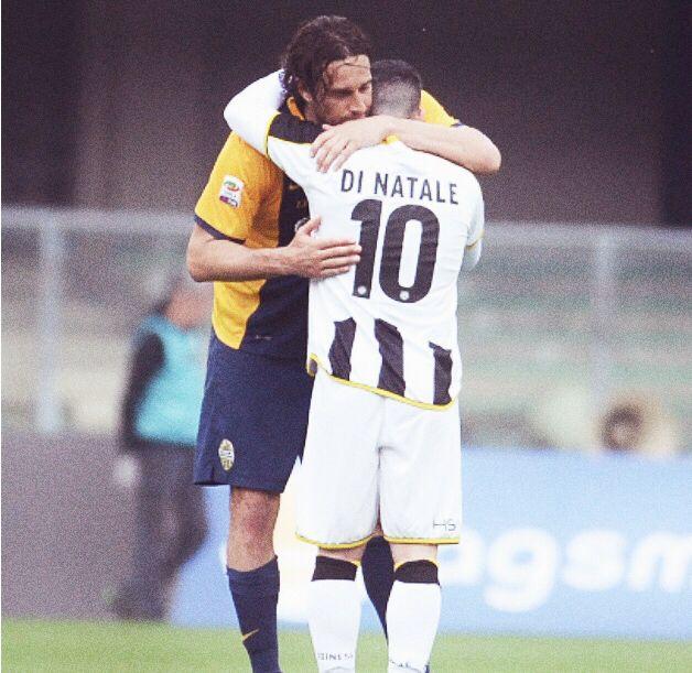 Luca Toni et Antonio Di natale