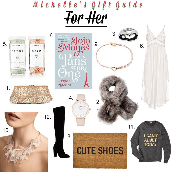 Holiday Gift Guide: For Her  http://openhartz.com/home/2016/12/9/holiday-gift-guide-for-her