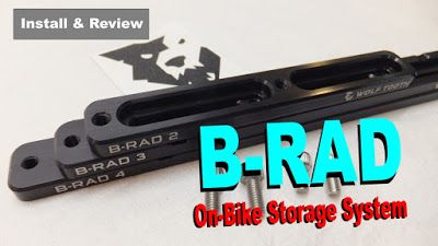 B-RAD | Flexible On-Bike Storage ~ Fatbike Republic