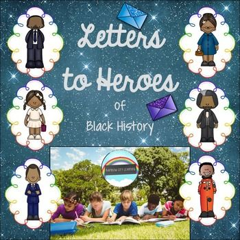 #BlackHistoryMonthWithTpT This Black History Bundle is now complete! Units included: Barack Obama Letters to Martin Letters to Ruby Letters to Rosa Letters to Frederick Letters to Mae...