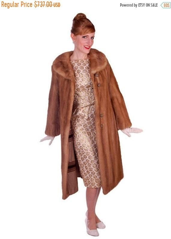 Cocktail Dress Vintage Mink Coat, How Much Did A Mink Coat Cost In 1950