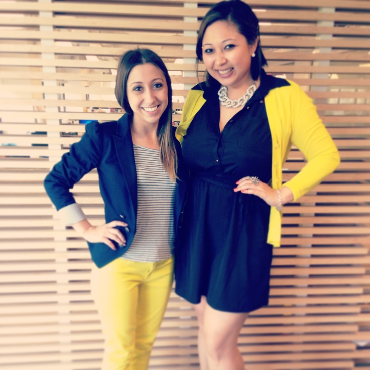 Spotted: Sunny brights on @sarmarinelli  @melissaleg #edelstyle #yellow #fashion #style #lovesit